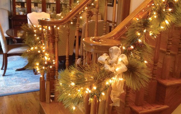 Interior Residential Holiday Decor